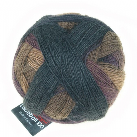 Schoppel-Wolle LACE BALL 100 simple spruce 2324